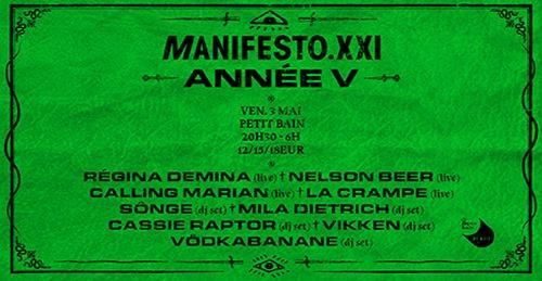 manifesto 21 fete ses 5 ans à paris lgbtq